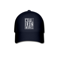 Coal Iron Works Baseball Cap - navy