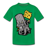 Kids' Premium MONSTER 16-Ton T-Shirt - kelly green