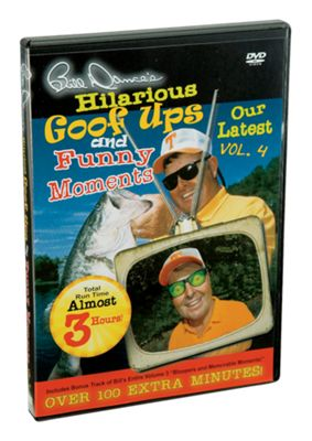 3 Bill Dance's Hilarious Goof Ups & Funny Moments DVD