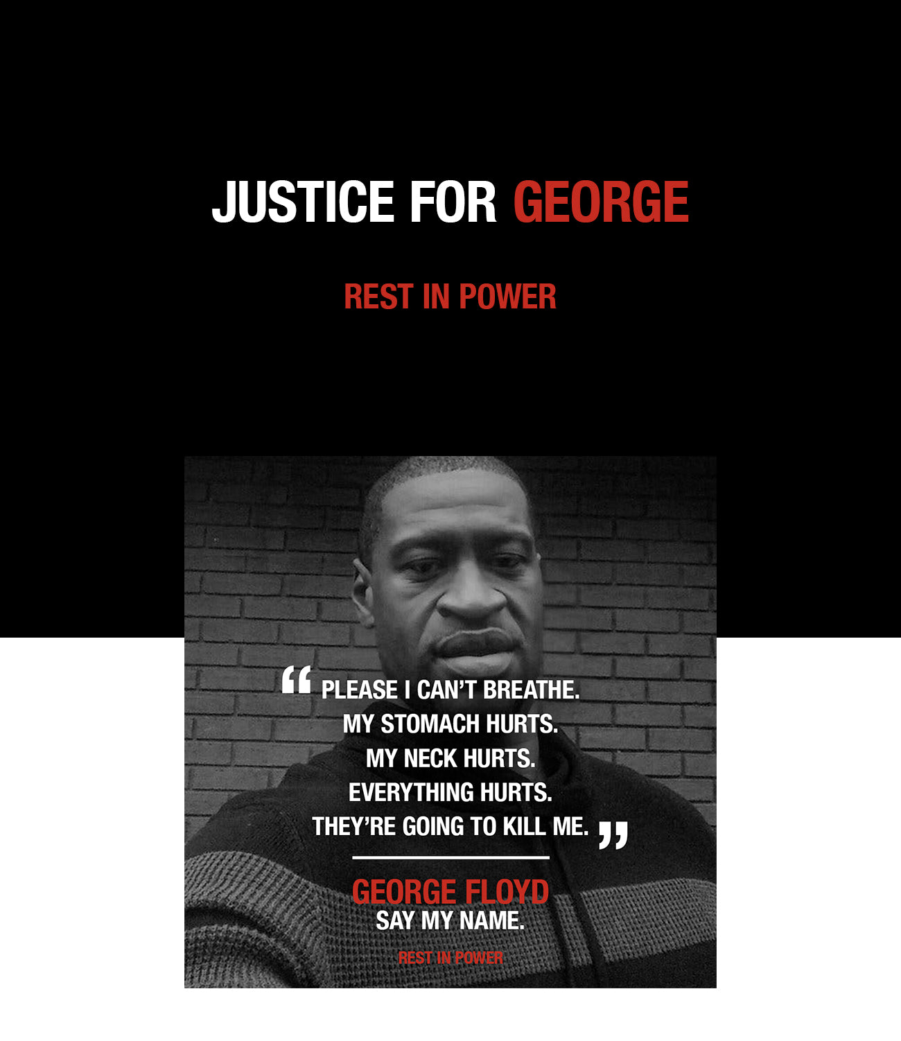 Justice for George