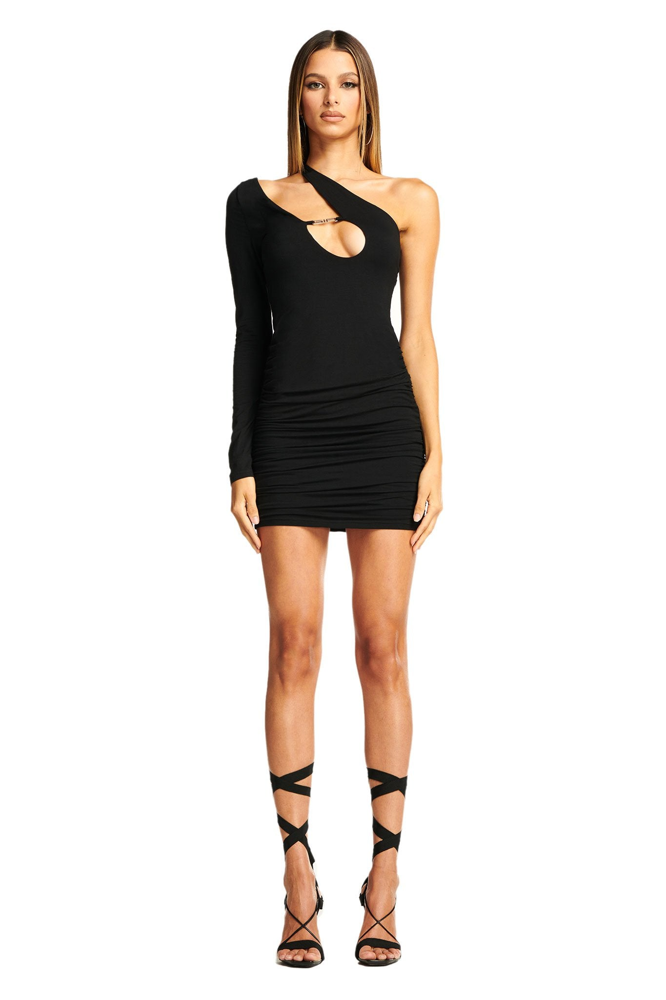 SILENE DRESS - BLACK