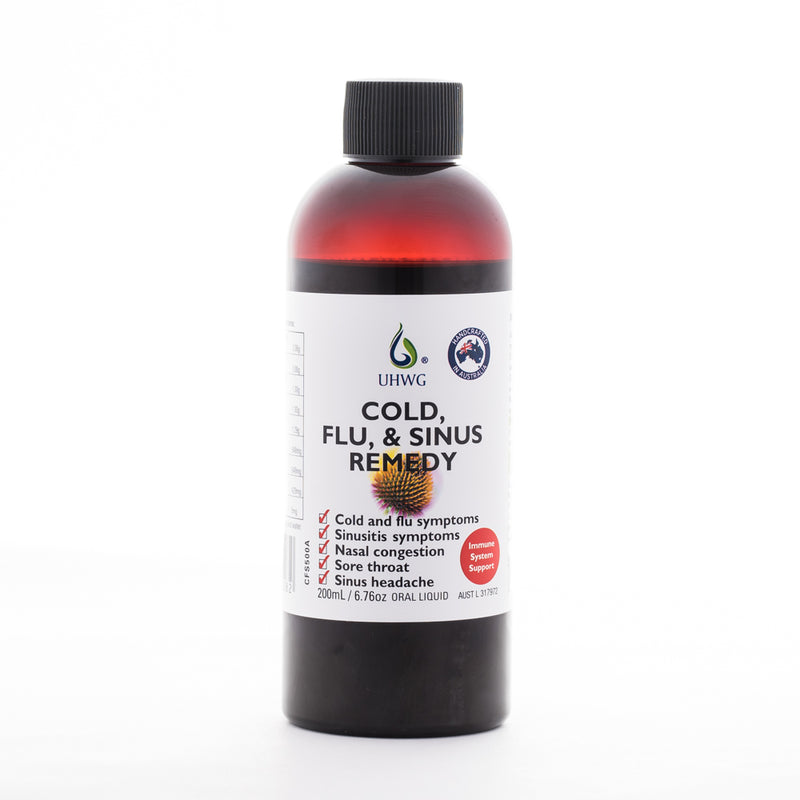 Cold, Flu, and Sinus Remedy - 200ml (Previously called Sinus Tonic)