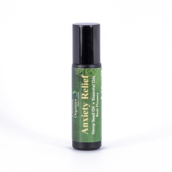 ANXIETY RELIEF - Organic Hemp Seed Oil w Essential Oils & Bach Flowers