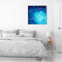 Original Painting of Aurelia Aurita or Moon Jellyfish