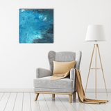 Original Painting of Blue Abstract