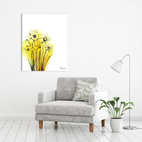 Original Painting of Daffodils