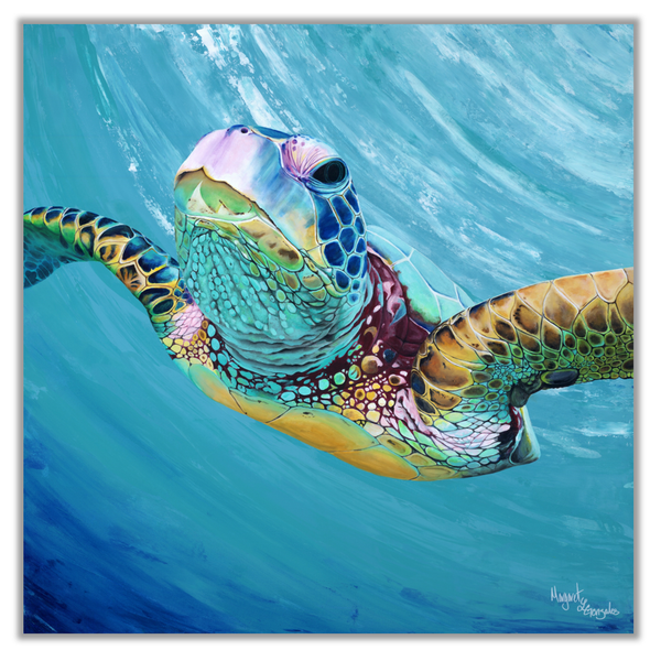 Original Painting of Sea Turtle