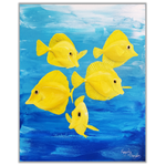 Yellow Tangs