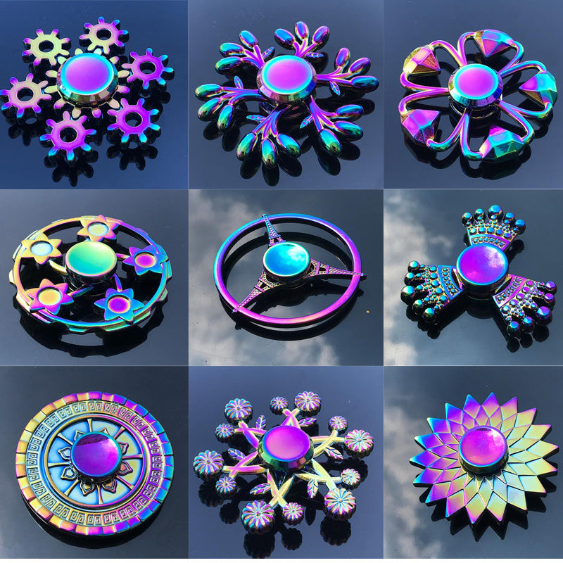 Unique Hand Finger Fidget Spinner