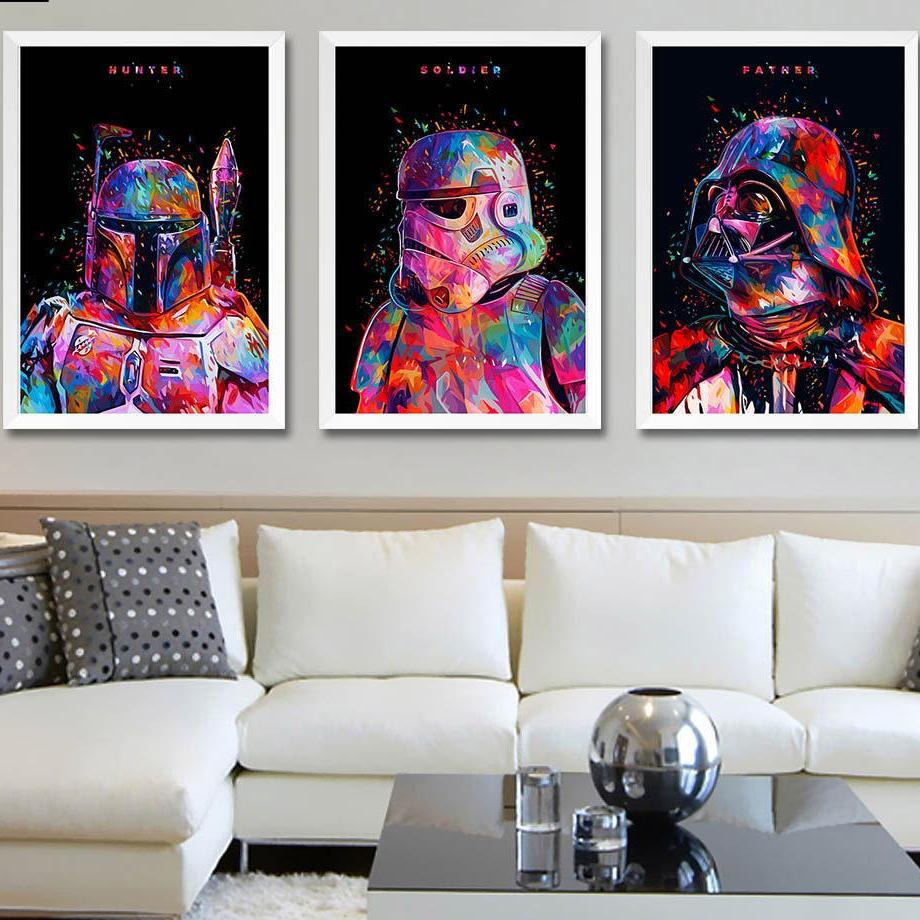 Star Wars Art Canvas Poster