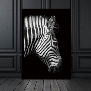 Animal canvas painting Wall art