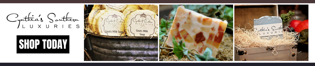 Cynthia's Southern Luxuries Home Page - Header