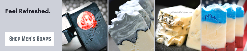 Mens Spa Soaps Header - Rugged Man