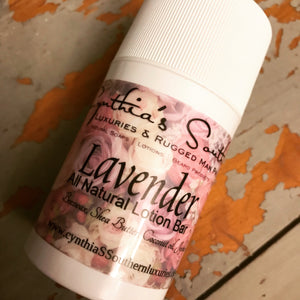 Lavender Lotion Bar