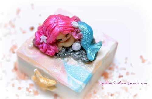 Baby Alayna Mermaid Novelty Soap