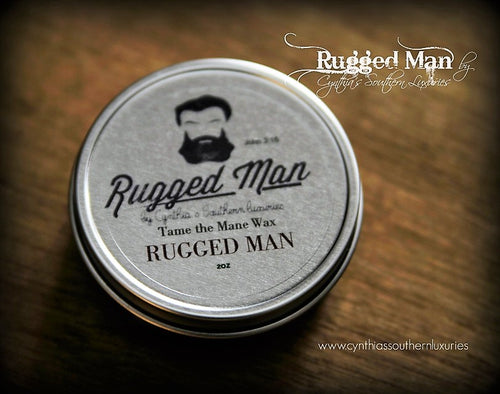Rugged Man Beard Wax