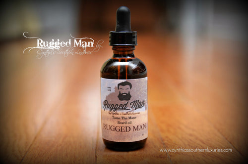Rugged Man Beard Oil