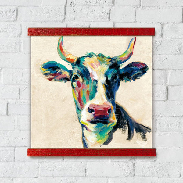 Expressionistic Cow II Artwork Wall Decor