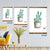 Mixed Greens Succulent V Artwork Wall Decor