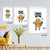 Neighborhood Animals III Artwork Wall Decor