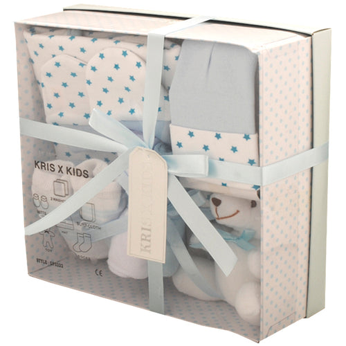 7 Piece Boys Baby Gift Set