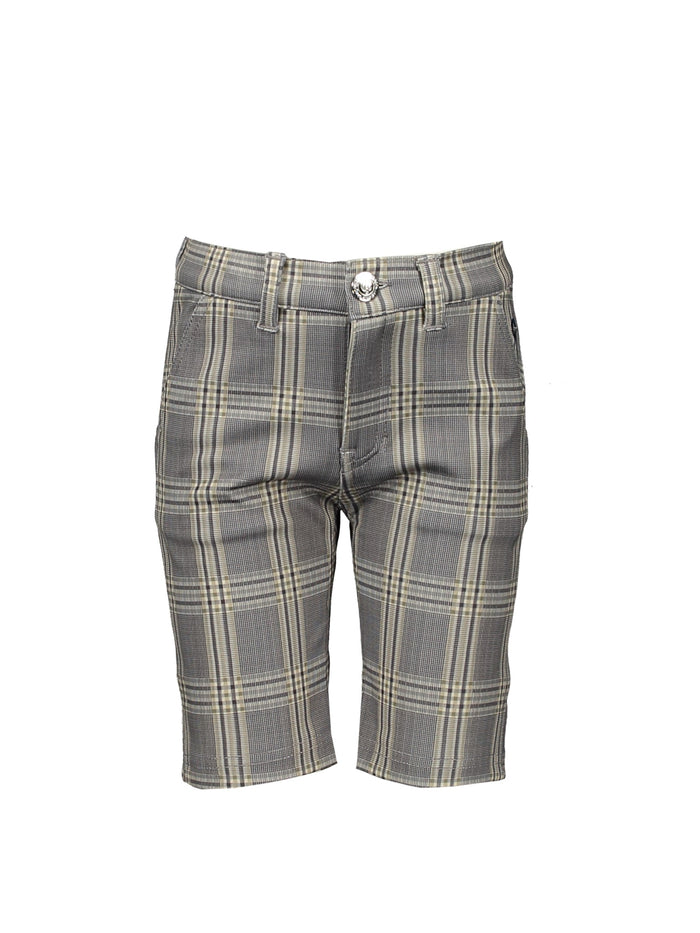 Classic Check Stretch Shorts by Le Chic Garcon