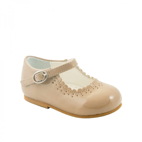 """Emma Camel"" Girls Shoe"