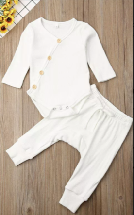 Rosy 2piece personalised Romper & Bottoms