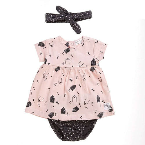 3 Piece Baby Dress by Babybol Barcelona