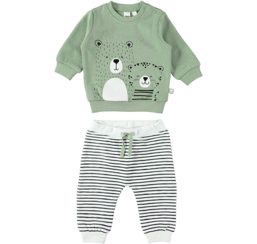 Animal Two Piece Jogging Suit by IDO