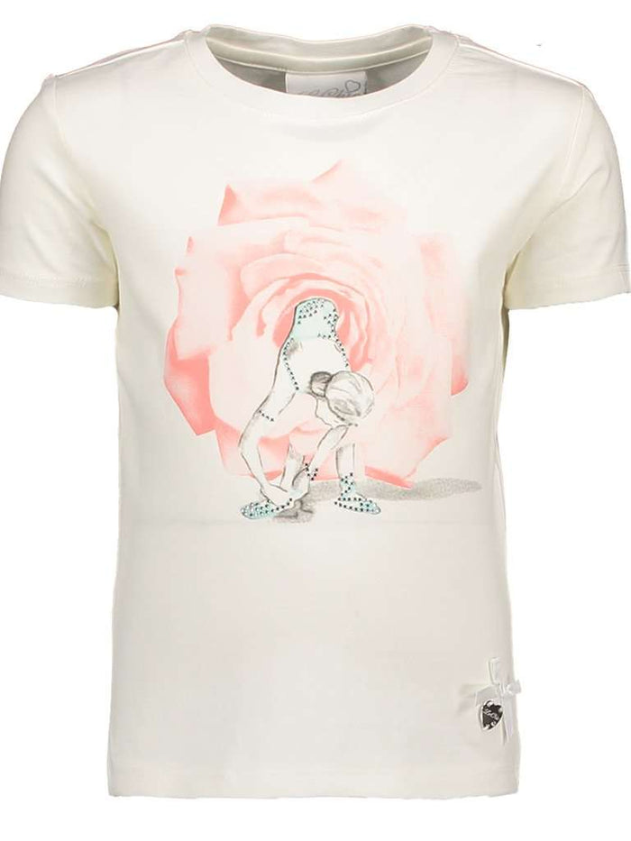 Ballerina Rose Tutu T-Shirt by Le Chic