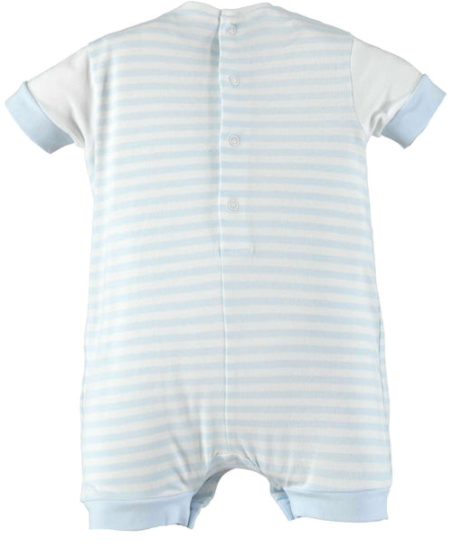 Blue Car Short Romper by IDO