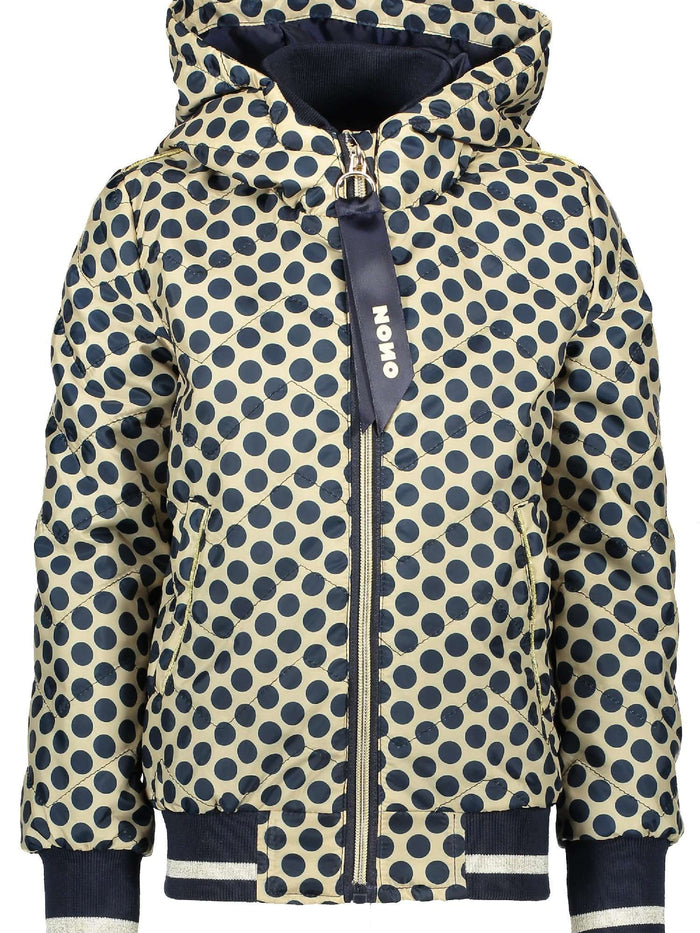 Bomber Jacket with dots by NoNo