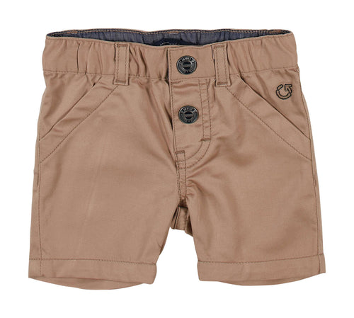 Brown Chino Shorts by GYMP