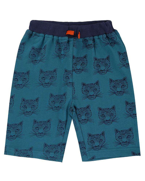Cheetah Sweat Shorts by Lilly & Sid
