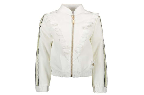 Diagonal Ruffle Jacket by Le Chic (Off White)