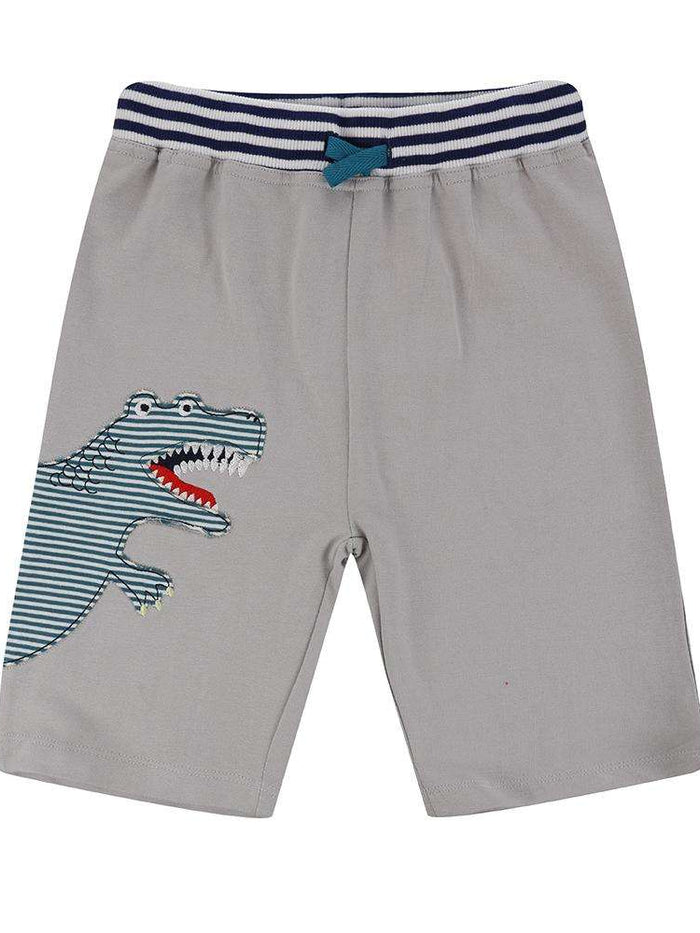 Dino Applique Shorts by Lilly & Sid