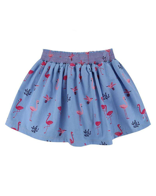 Flamingo Print Skirt by Lilly & Sid