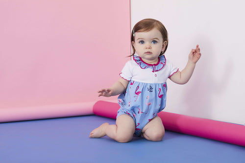 Flamingo Sunny Suit by Lilly & Sid