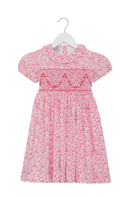 "Hand Smocked ""Rose"" Dress by Little Larks"