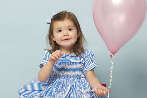 Hand Smocked Lara Dress By Little Larks