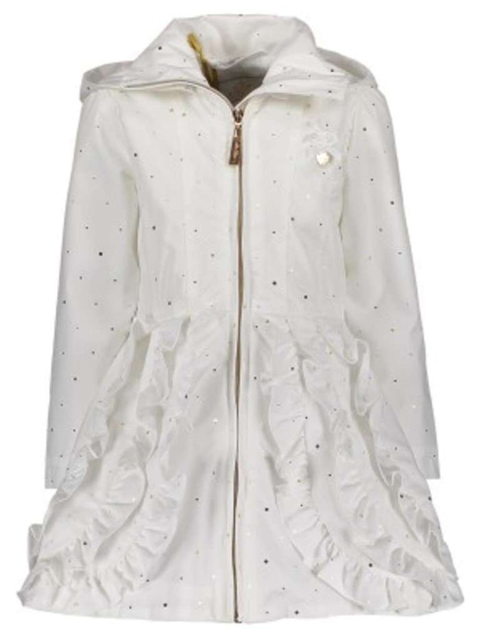 Irregular Dots Coat by Le Chic (Off White)