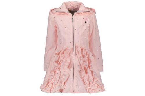 Irregular Dots Coat by Le Chic (Pink)