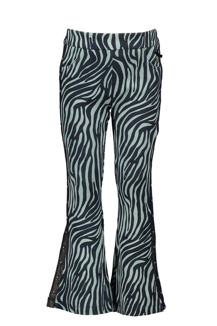 Jade Zebra Flares by Le Chic