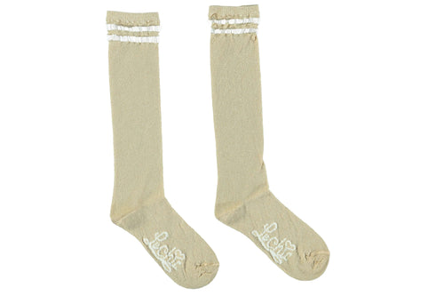 Le Chic Glitter Knee Socks