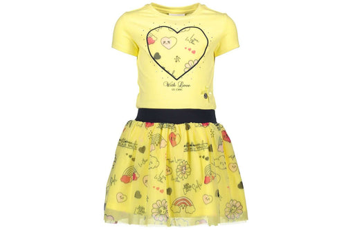 Love Fiesta Petticoat Dress by Le Chic (Yellow Lemonade)