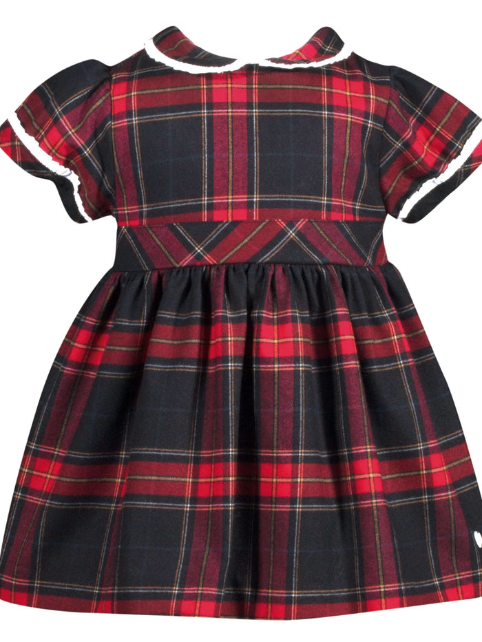 Mini Tartan Girl Dress by Patachou