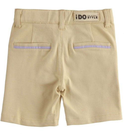 Navy Seam Chino Shorts by IDO