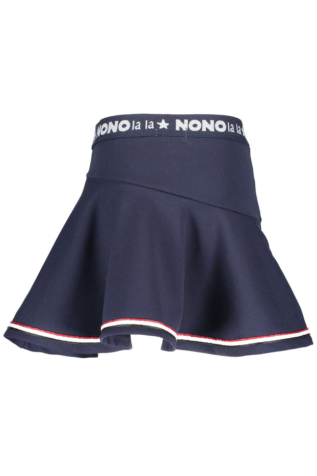 Nio Crepe Short Skirt (NAVY) by NoNo