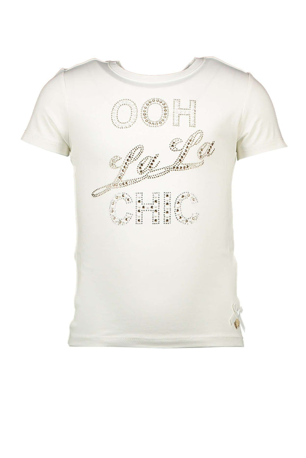 OOH LA LA T-Shirt White by Le Chic